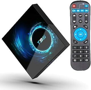 T95 6K Smart TV Box Android 10.0 Allwinner H616 Quad Cord 4GB 128GB 2.4G/5G Dual WIFI Bluetooth H.265 6K TV Box