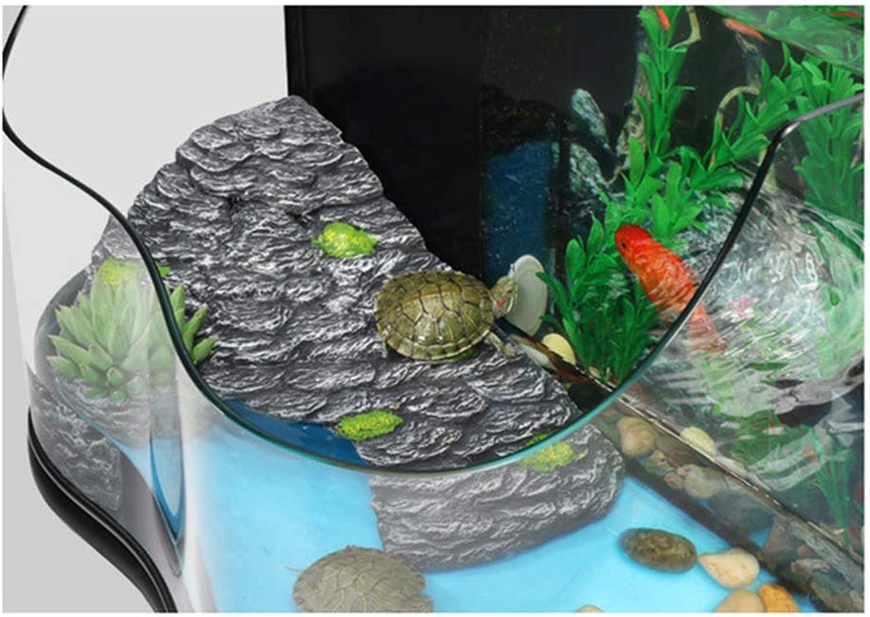 Decor Polyresin Cave,Reptile Cave Shelter Basking Platform Hideouts, Turtlepier