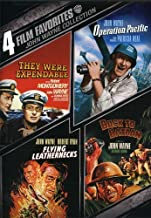 4 Film Favorites: John Wayne (Back to Bataan, Flying Leathernecks, Operation Pacific, They Were Expendable)