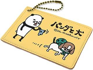 パンダと犬 01 イエロー キャラパス