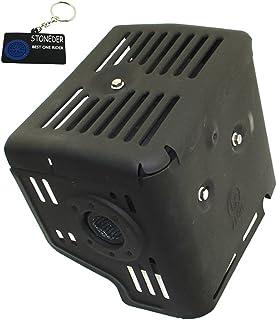 STONEDER Silenciador con Protector de Calor para Honda 11HP GX340 13HP GX390