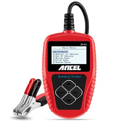 Batterie Tester Digital 12V AUTO KFZ PKW Testgerät Ladesystem Batterietestgerät