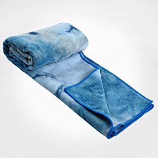CXQ Yoga Blanket Towel Female Non-Slip Sweat-Absorbent Water Shadow Printing Yoga Cloth Yoga mat Blanket Towel