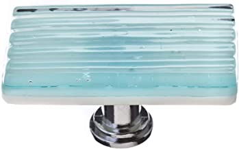 product image for Sietto LK-801-PC Texture 2 Inch Long Rectangular Cabinet Knob