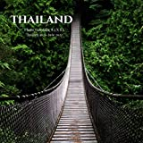 Thailand Photo Calendar January 2021 - June 2022: 18 Monthly Mini 8.5 X 8.5 Picture Book| Cute 2020-2021 Year Blank At A Glance Colorful Desk Page ... Country Nature Art Landscape Theme
