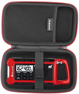 RLSOCO Hard Case for Midland ER210/ER310/ER300, Emergency Crank Weather AM/FM Radio