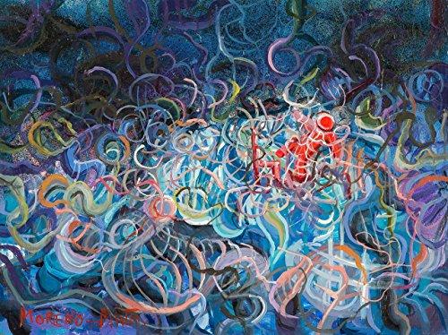 Planetarium XI Original Handmade Abstrakte Malerei