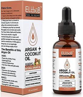 comprar comparacion Aceite Argán+Aceite de Coco – Aceite Argán Natural de Árboles de Argán Marroquíes para Pureza Máxima Aceite Orgánico Puro ...