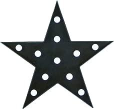 Stork Corp ベッドランプ 星型 LED ナイトライト イルミネーションライト 寝室ライト 電池式 お祝い 飾り付け (ブラック)