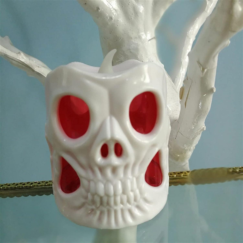 Desk 5 ☆ very popular Lamp 2021 Halloween Skull Very popular Light Pumpki LED Colorful Candle