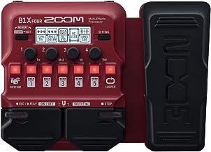 Zoom B1X FOUR - Pedal de efectos para bajo con pedal de expresión