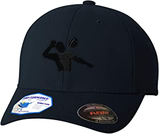 Custom Flexfit Baseball Cap Volleyball Player Embroidery Design Polyester Hat