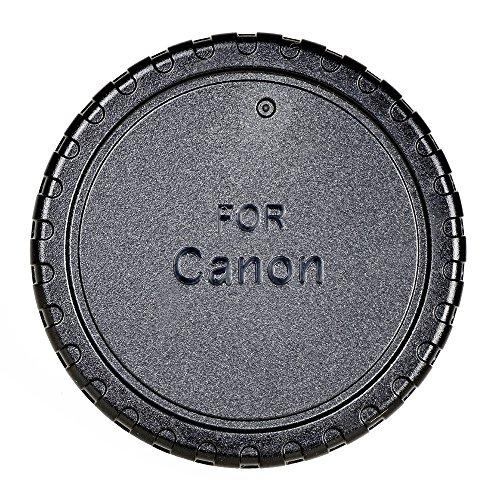 Samyang - Tapa Trasera para Objetivo Canon M, Color Negro