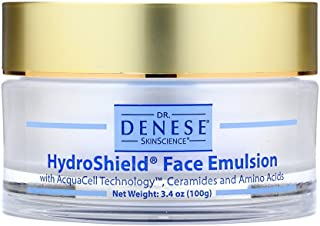 Dr. Denese SkinScience HydroShield Face Emulsion Increased Hydration with Acquacell Technology, Sodium PCA,...