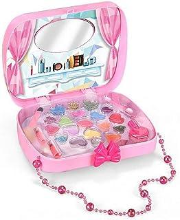 Pretend /& Play Set De Maquillaje 17in1 Princesa Set Maquillaje Cosm/ético Ni/ños De Juguete Juego De Imaginaci/ón Kit Para Ni/ñas