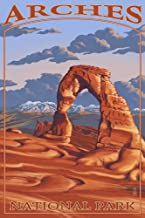 product image for Arches National Park, Utah - Delicate Arch (12x18 Art Print, Wall Decor Travel Poster)