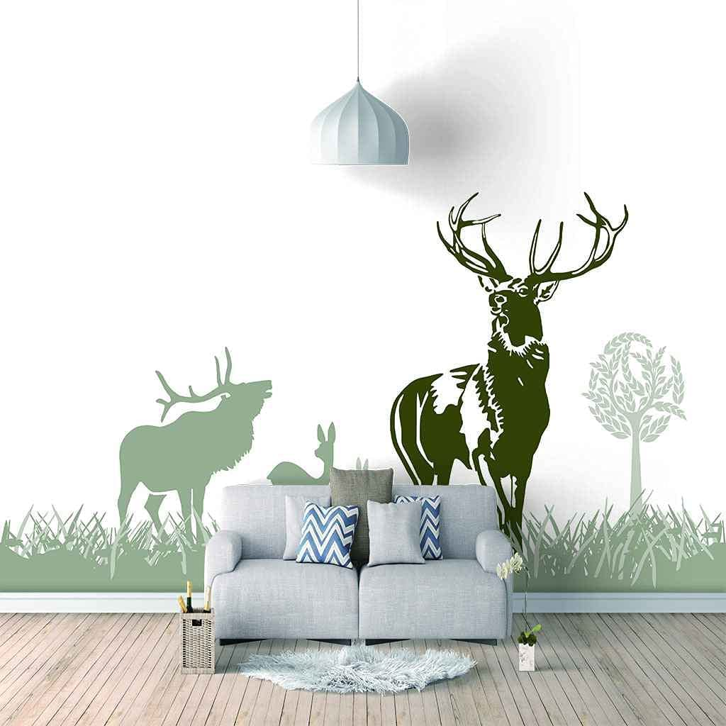 3D Free Shipping New Mural Poster 450x300cm Abstract Fawn Animal Living Room Wal Max 63% OFF