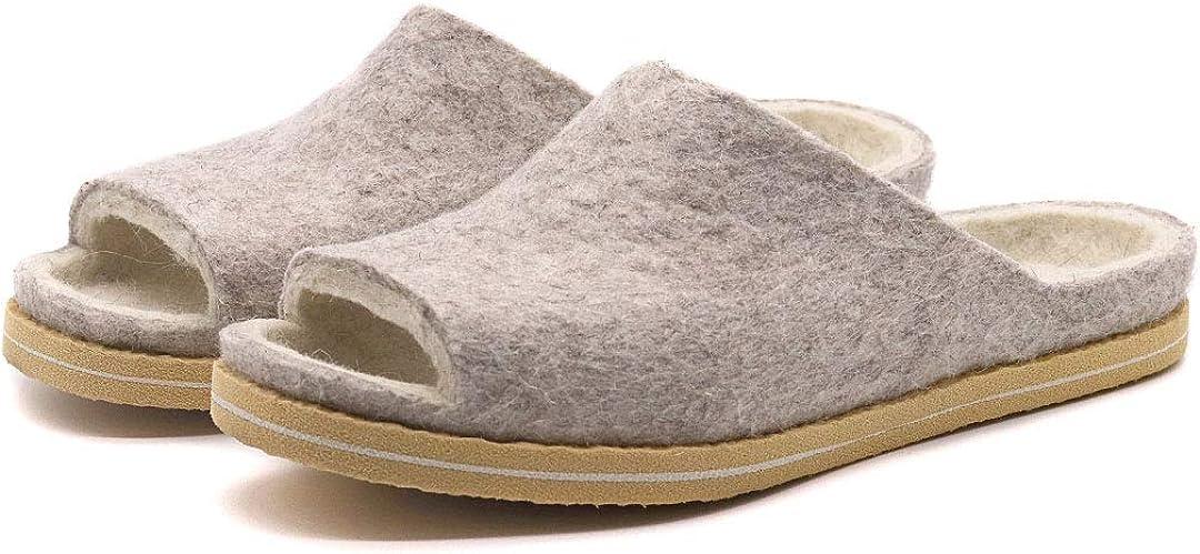 Nootkas Women's Felted Merino Wool 'Aurora' Slide