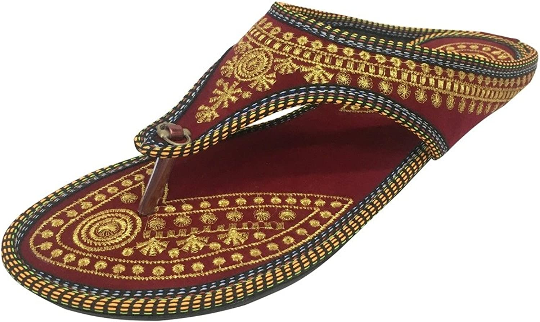 Step n n n Style Punjabi Jutti Indiska skor Flat Flop Khussa skor Jaipuri Sandaler  letar efter försäljningsagent