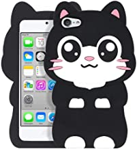 YONOCOSTA Cute iPod Touch 7 Case, iPod Touch 6 Case, iPod Touch 5 Case, Funny Kawaii 3D..