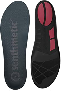 Senthmetic Running Insoles Full Length Orthotic with Arch Support - Best Shock Absorption & Cushioning Insoles for Plantar...