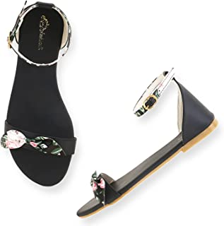 Zz fashion casual and trendy flat sandal for women and girls
