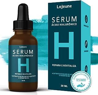 Serum Ácido Hialurônico + Vitamina B5 + Extrato de Bulbo de Açafrâo - Sérum Facial - 99% Ingredientes Naturais - Hidrata, ...