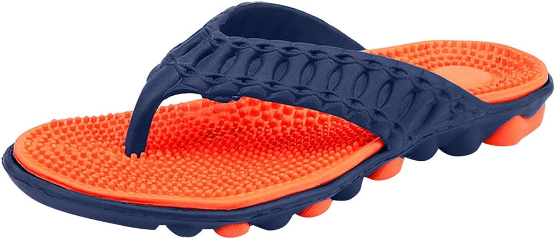 HOLL Men Summer Beach Flip Flops Shoes Sandals Male Slipper Flip-Flops Flat Shoes