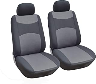 Tan Polycotton Drill Coverking Custom Fit Rear 60/40 Bench Seat Cover for Select Kia Spectra Models