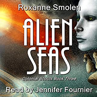 Alien Seas audiobook cover art