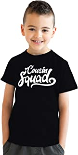 Youth Cousin Squad T Shirt Boy Girl Cousins Tees for Kids