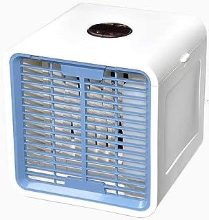 URIBAKY Refrigerador PortáTil De Aire Acondicionado con Mini USB, Purificador Purificador con Ventilador 3 En 1, BotóN TáCtil Ajustable De 3 Velocidades para El Hogar Y La Oficina