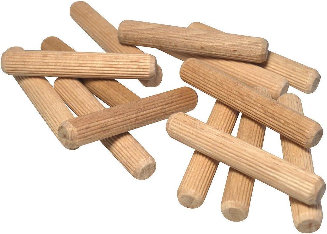 Riffeld/übel aus Buche 6x30 mm JOWE/® Holzd/übel