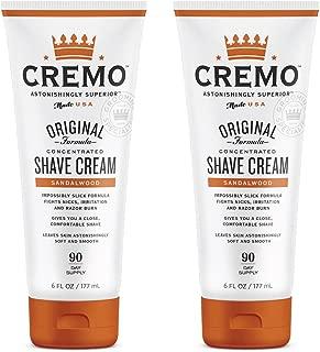 Cremo Sandalwood Shave Cream, Astonishingly Superior Smooth Shaving Cream Fights Nicks,..