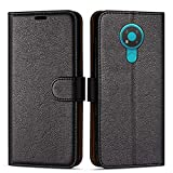 Case Collection Premium Leather Folio Cover for Nokia 3.4