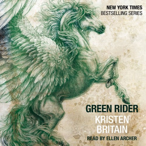 Green Rider audiobook cover art