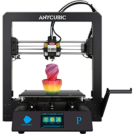ANYCUBIC Mega Pro 3D Printer | 3D Printing & Laser Engraving | Auto Resume Function | Smart Auxiliary Leveling | Printing Size: 210×210×205 mm³ | Engraving Size: 220×140 mm²