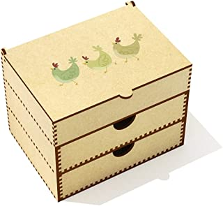 Azeeda  Chickens  Vanity Case Makeup Box  VC00019786