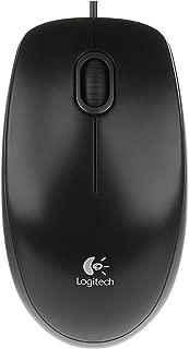 Logitech B100 Optik Kablolu USB Mouse, 3 Tuşlu, PC ve Mac Uyumlu, Siyah