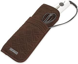 Vera Bradley Cotton Curling & Flat Iron Cover In Espresso 14884-085