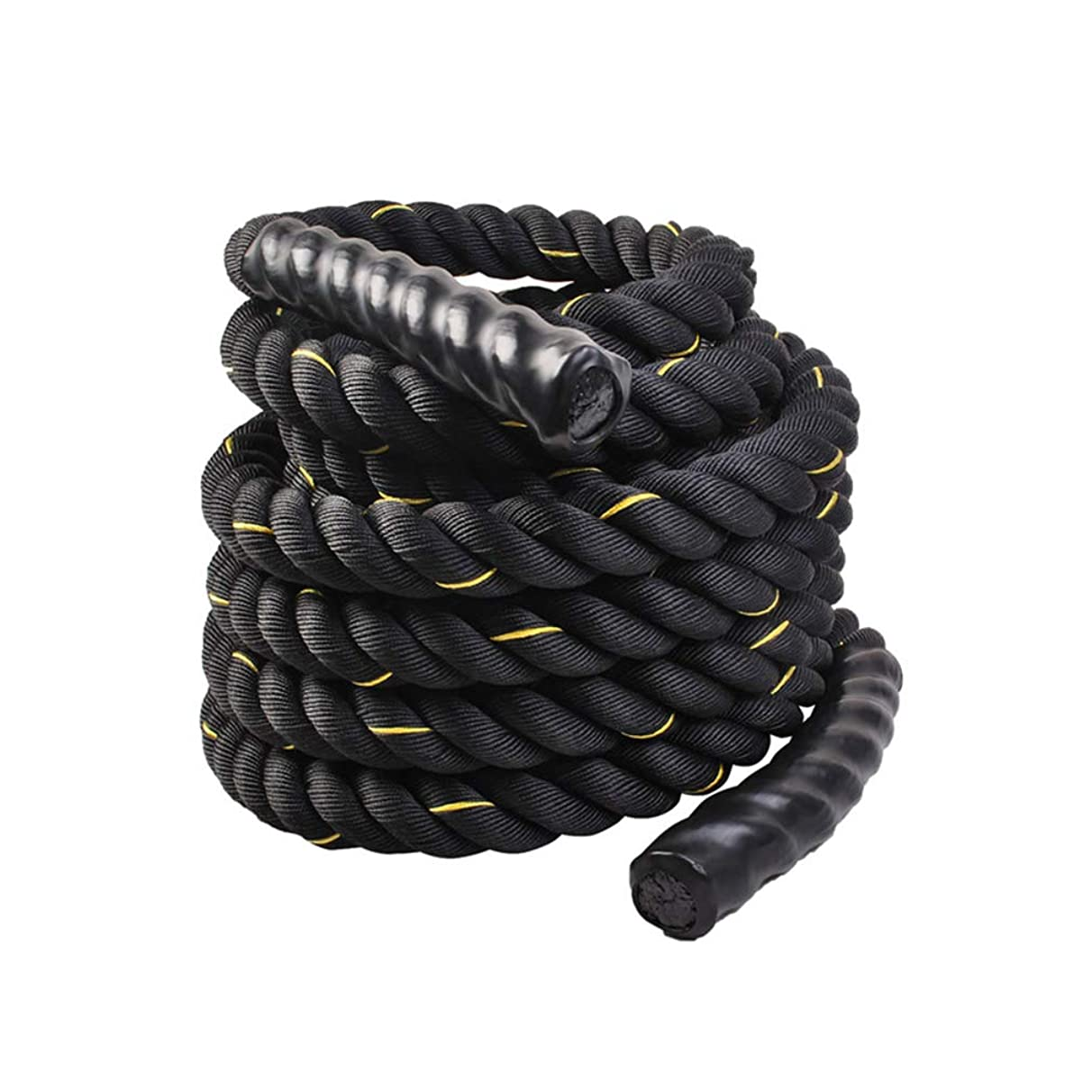 UFC Fitness Training Rope Polyester Fighting Rope Fitness Thick Rope Muscle Big Reins Power Rope Battle Rope 9m, 12m, 15m