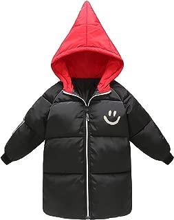 Happy Cherry Boys Girls Winter Down Jacket Hoody Coat Puffer Outerwear Windproof