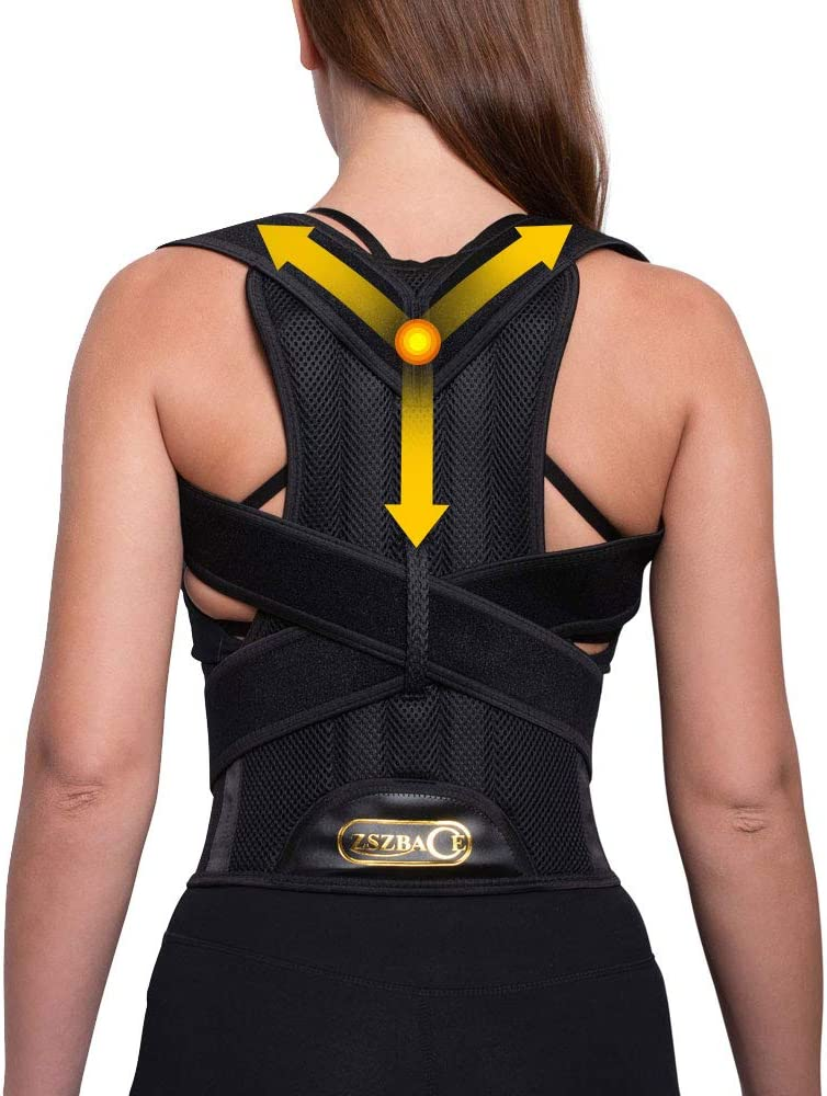 ZSZBACE Posture Popular shop is the lowest price challenge Corrector Back Fresno Mall Brace Men Women- for and Relieve
