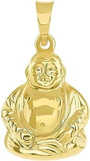buddha gold pendant