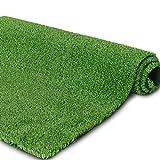 Petgrow リアル 人工芝 ロール 芝生 芝丈10mm (1×10m) グリーン 緑 耐UV インテリア 庭 壁装飾 室内外 高品質 高密度 玄関 ベランダ カーペット マット