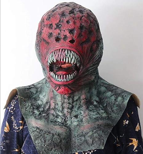 Xiaodu Halloween Horror Maske Terrorist Biochemische Tipps Venom Maske Full Face Zombie Latex Kopfbedeckung