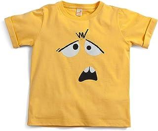 Camiseta Seja Você Amarelo - Toddler Menino