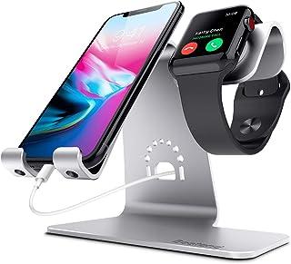 Bestand 2 in 1 Watch Charging Stand Holder for iwatch & Desktop Cell Phone Stand Holder for iPhone X/8 Plus/8/7 Plus/Samsu...