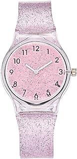 NICERIO Relógio Infantil para Meninas – Relógio de Pulso com Pulseira de Silicone
