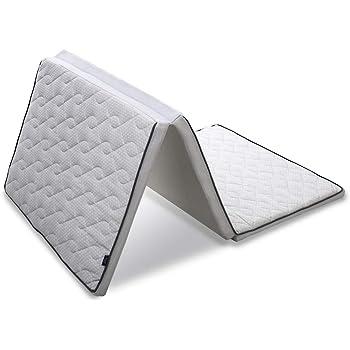 アイリスオーヤマ 洗える エアリーマットレス EXTRA シングル 三つ折り 抗菌防臭 厚さ6cm 高反発 敷布団 体圧分散 通気性 高耐久性 AMEX-3S